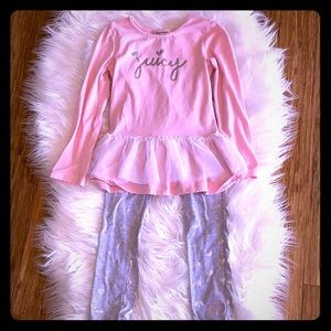 Pretty in Pink Juicy Couture Tunic with Leggings